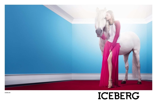Edita Vilkeviciute for Iceberg SS 2013