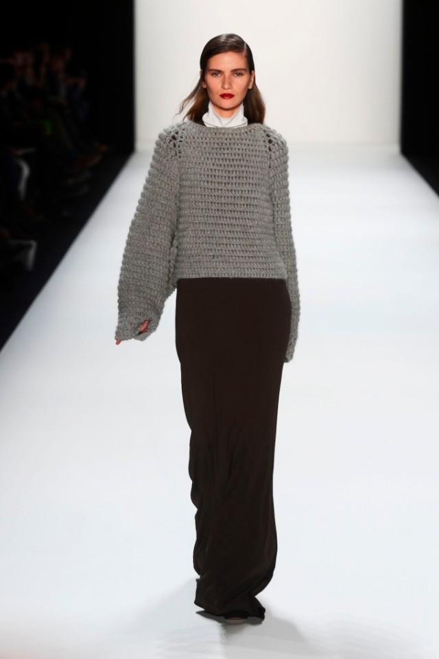 Issever Bahri Show - Mercedes-Benz Fashion Week Autumn/Winter 2013/14
